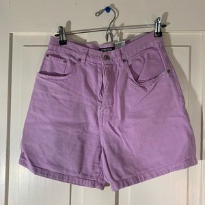 Purple Vintage Jean Shorts